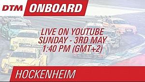 Mike Rockenfeller - Live Onboard (Race 2) - DTM Hockenheim 2015