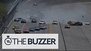 The Big One strikes early at Talladega - 2015 NASCAR Sprint Cup