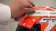 Ecco come nasce il casco di Kimi Raikkonen