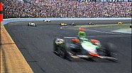 Bryan Clauson slams the wall - 2015 Indy 500