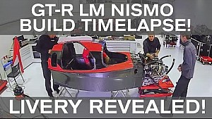 Building the GT-R LM NISMO timelapse! + Livery reveal!