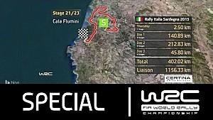 WRC - Rally Italia Sardegna 2015: The Stages