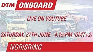 DTM Norisring 2015 - Bruno Spengler - Live Driver's Seat (Race 1)