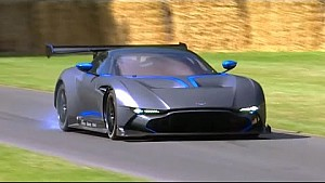 Aston Martin Vulcan - Supercar debut at Goodwood festival of Speed