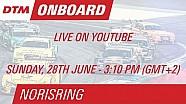 DTM Norisring 2015 - Maxime Martin - Live Onboard (Race 2)