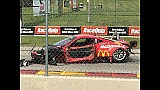 Ferrari 458 insane crash at Road America 2015