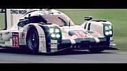 La Porsche 919 Hybrid victorieuse du Mans à Goodwood