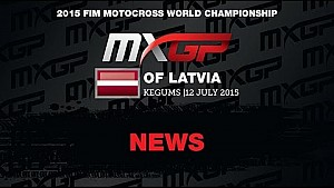 MXGP of Latvia 2015 highlights