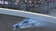 Earnhardt Jr. and Kahne collide after restart