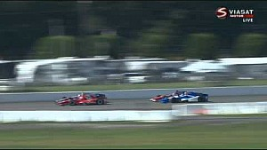 Rahal and Vautier crash hard at Pocono