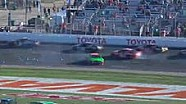 Danica Patrick gets crushed by David Ragan