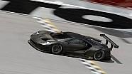 La Ford GT en piste à Daytona