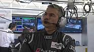 Epic battle between Audi #7 Benoit Treluyer VS Porsche #18 Marc Lieb in Hour 4