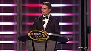 Jeff Gordon's emotional speech