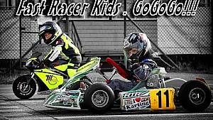 Fast Racer Kids. GoGoGo!!! Tima Kuleshov vs Makar Zheleznyak . Moto \ Kart 2015