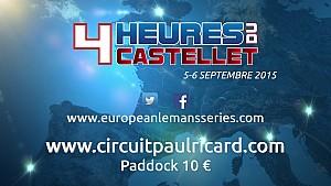 ELMS - Teaser - 4 Hours of Le Castellet 2015