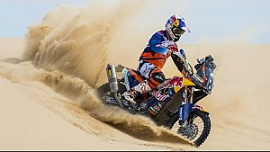Desert Racing Action from the Bikes | Dakar Rally 2016