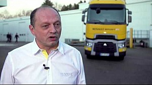 RenaultSport F1 - Fred Vasseur Interview