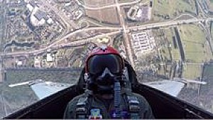 Chase Elliott Flies with the U.S. Air Force Thunderbirds