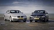 BMW 320d vs 330e review