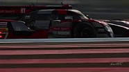 The new Audi R18 at its first WEC action from The Prologue 2016