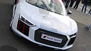 Spectacular New Safety Car - Audi R8