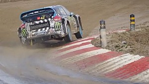 World RX Round 1: Ken Block and Andreas Bakkerud in Portugal