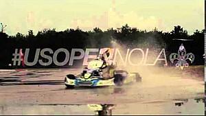Karting promo video - wet lap