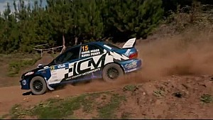 Heat 1 Highlights of Round 1 Kumho Tyre Australian Rally Championship, Quit Forest Rally WA