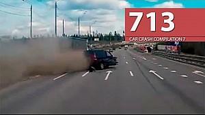 Car Crash Compilation # 713 - April 2016 (English Subtitles)