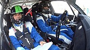 Acropolis Rally - Onboard Athanassoulas Qualifying Stage