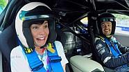 Brividi per Lizelle Coetzee sulla BMW i8