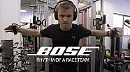 Rennvorbereitung mit Rosberg