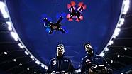 Daniel Ricciardo y Max Verstappen Drone Racing