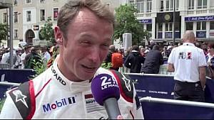 24H of Le Mans 2016 - Interview de Patrick Pilet