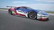 Preparación para Le Mans: rendimiento simulador de carreras de Ford