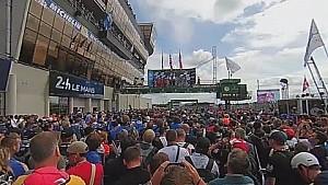 360° VIDEO: 24 Hours of LeMans 2016, Podium Ceremony Crowd