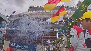360° VIDEO: Le Mans 2016 Podium LMP1