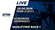 Live: DTM Norisring 2016 - Qualifying (Race 1)
