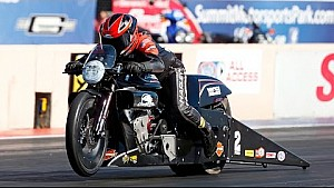 Eddie Krawiec races to the qualifying lead at the #SummitNats