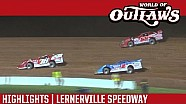 World of Outlaws Craftsman Late Models Lernerville Speedway June 24th, 2016 | HIGHLIGHTS