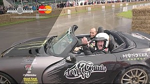 Terry Grant Priceless Surprise at Festival of Speed!