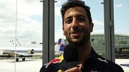 Hangar-7: Daniel Ricciardo interview before Austrian GP