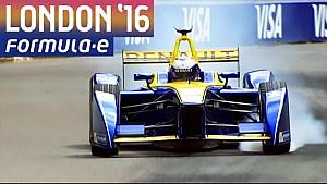 London 2016 Qualifying Highlights (Sun) - Formula E