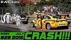 Racing and Rally Crash Compilation Week 28 July 2015