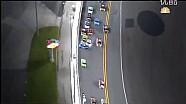 椭圆赛道大事故,来看NASCAR Coke Zero 400发车不久就撞车