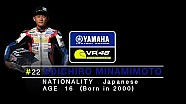 Yamaha VR46 Master Camp - Interview to Soichiro Minamimoto