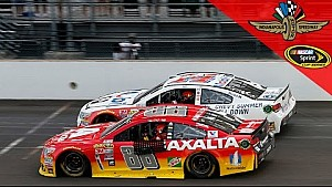 Two legends wave goodbye to the Brickyard