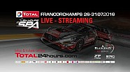 Total 24h of Spa 2016 - PART 1a - Start until 22:47 remaining hours remaining .