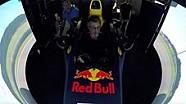 Eddie Jordan dans le simulateur Red Bull